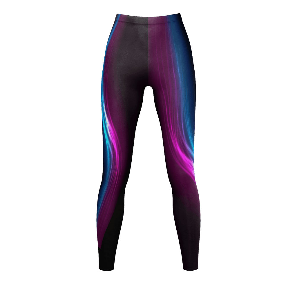 neon colored leggings