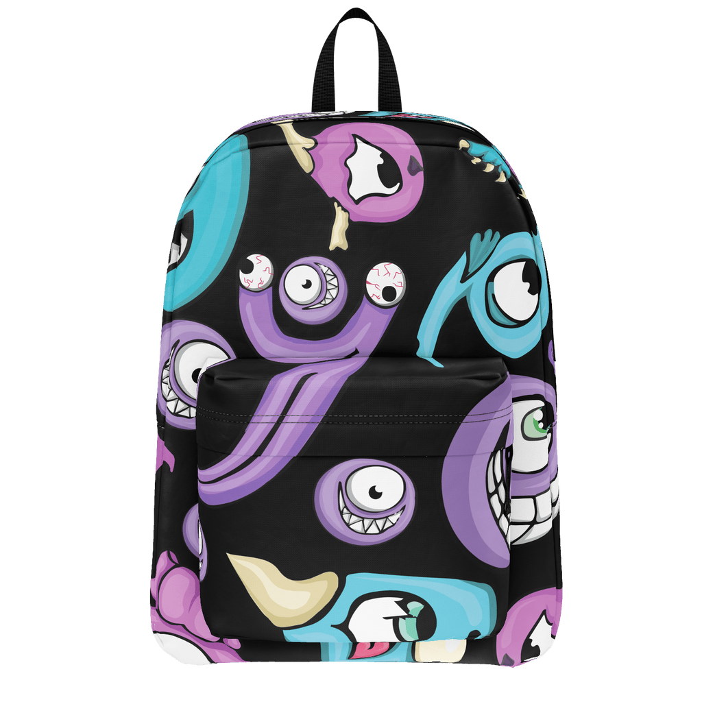 School Bus Aliens Backpack 15