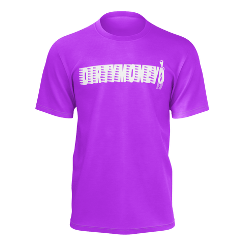 DIRTYMONEY MBF TEE PURPLE/WHITE
