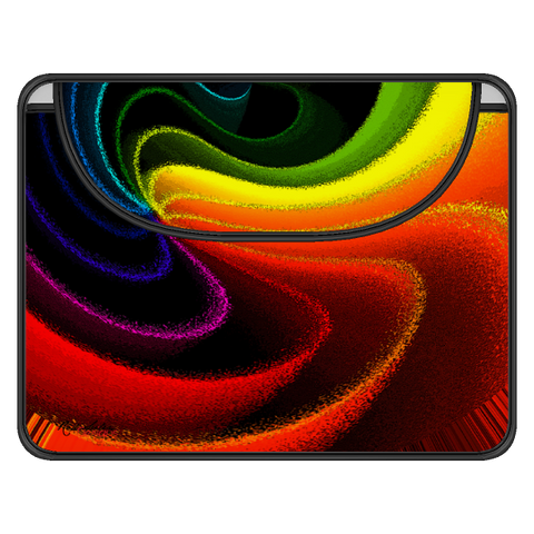 COLOR SWIRL 2 Computer Envelope Sleeve