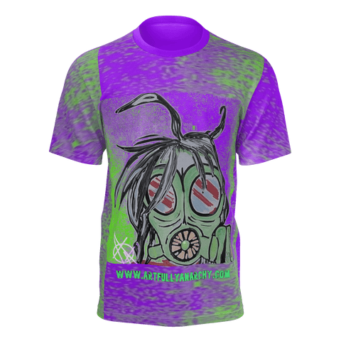 Mr. Gasmask Purple Men's w/ Logo 2