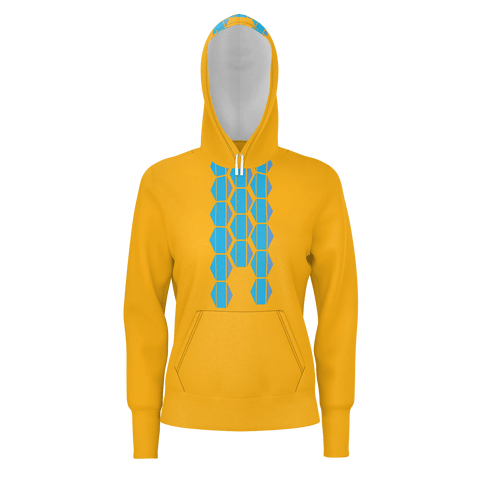 Ladies' Pullover Hoodie Graphic, Exterior Prints, No Liner