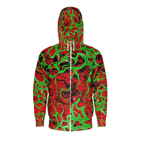 INVISA ZIP UP HOODIE MENS