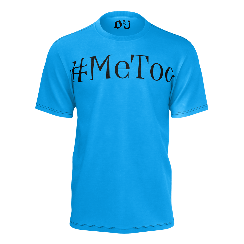 #MeToo Men's T-Shirt (Azure)