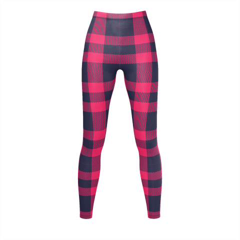 Navy And Red Flannel Pattern