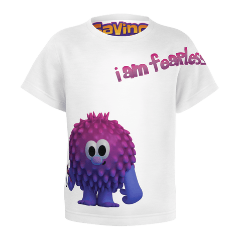 fearless kids tshirt