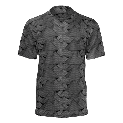 Giza Pyramids Patterned Grayscale