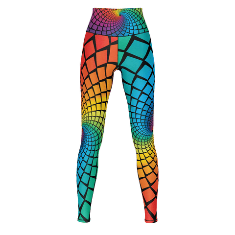 AA Yoga Pants Rainbow 1