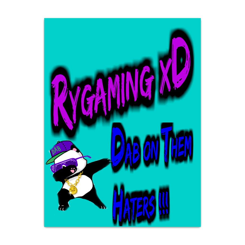 poster blue rygamingxd