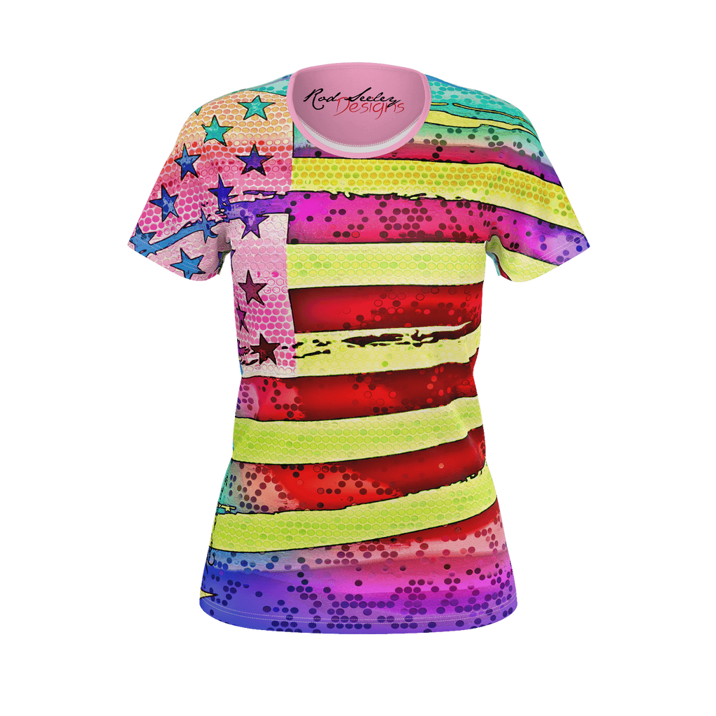 Patriotic Magic 4 - Women's Tee