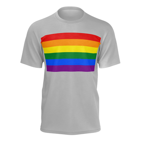 LGBT Color Meanings, Men's Short Sleeve Grey Shirt