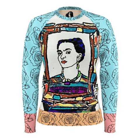 BE ART- FK Womens Long Sleeve Tee
