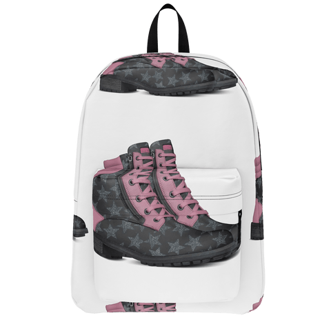 Country Glamma boots backpack
