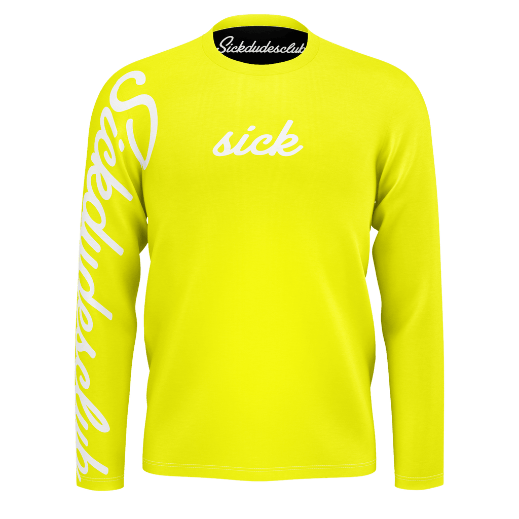 sick yellow long sleeve