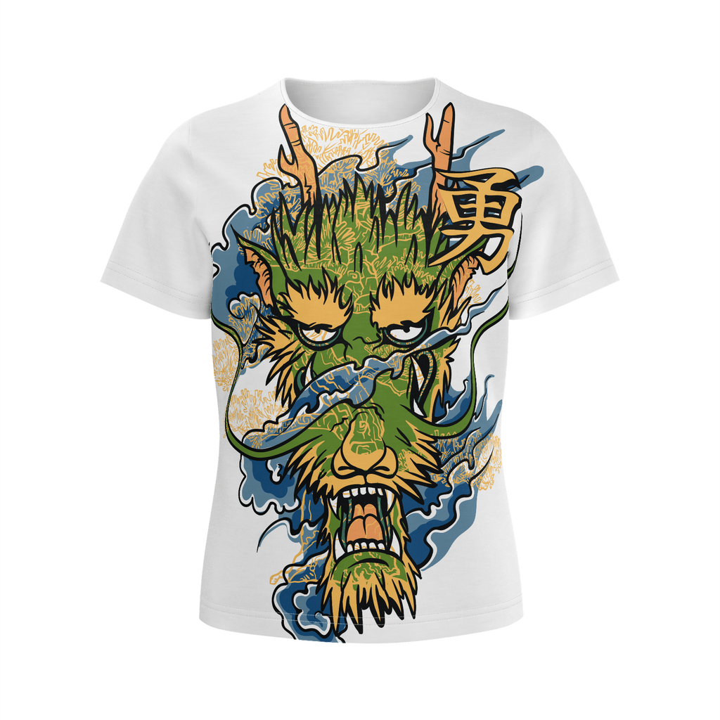 Dragon T shirt - Funny Dragon Illustration