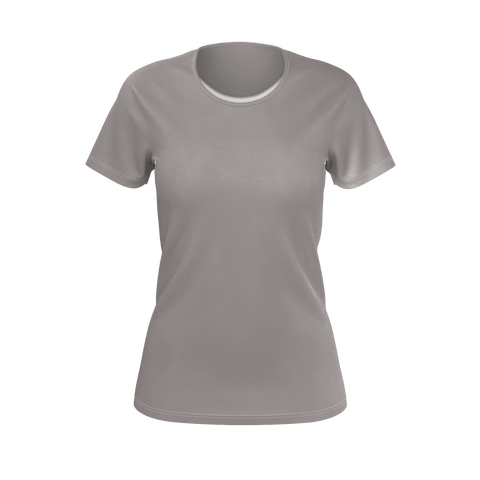 Ash Women's Standard T-Shirt Fitted (Poly)