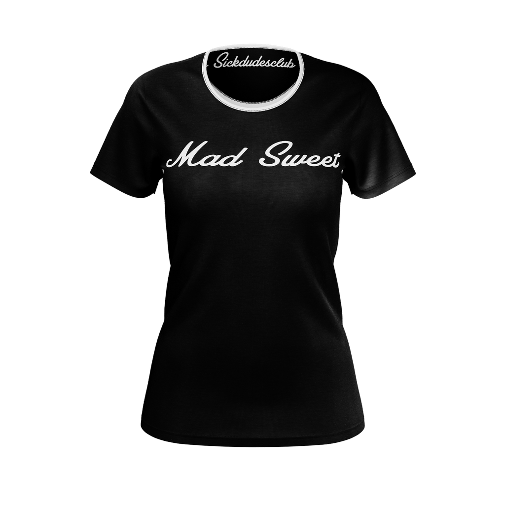 Mad Sweet Ladies B&W tee