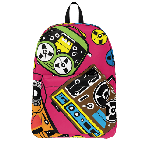 School Bus Aliens Backpack 22