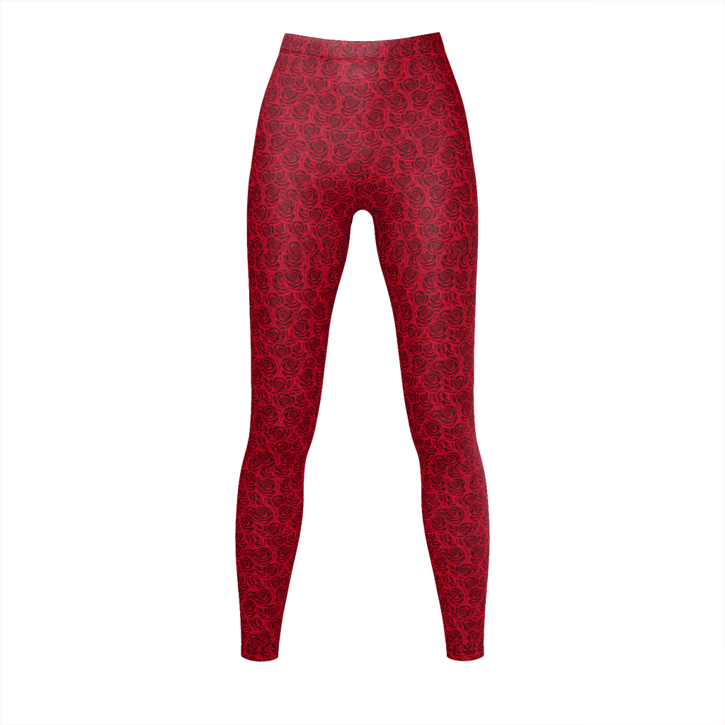 Red Roses - Leggins