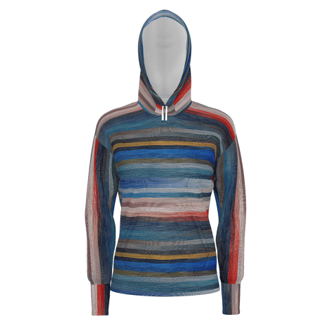Multi Color Pattern Hoodie