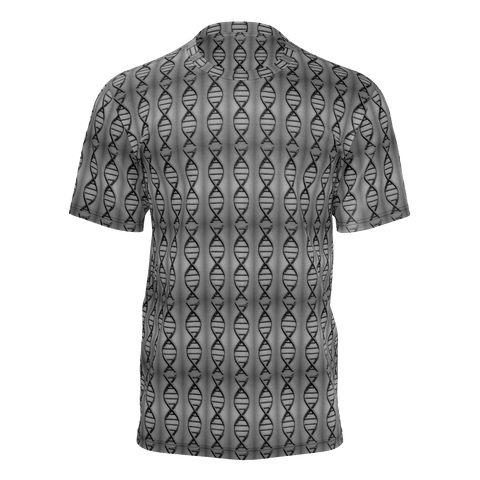 DNA Vertical Grayscale Man Tee