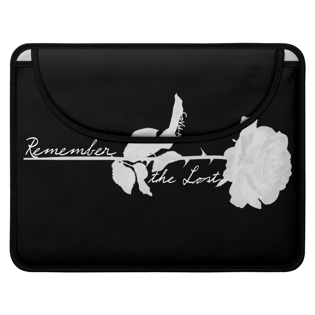Remember the Lost Envelope Laptop Sleeve (Black)