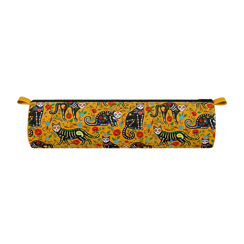 African Cat Pencil Case