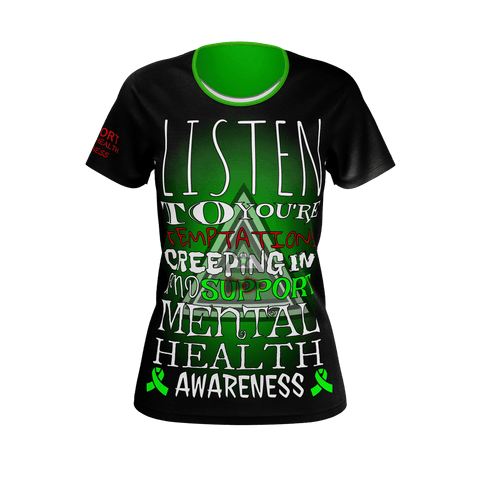 WOMAN'S HALLOWEEN MENTAL HEALTH AWARENESS T-Shirt