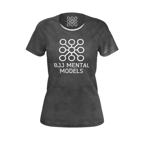 Women's grey logo shirt - recycled poly