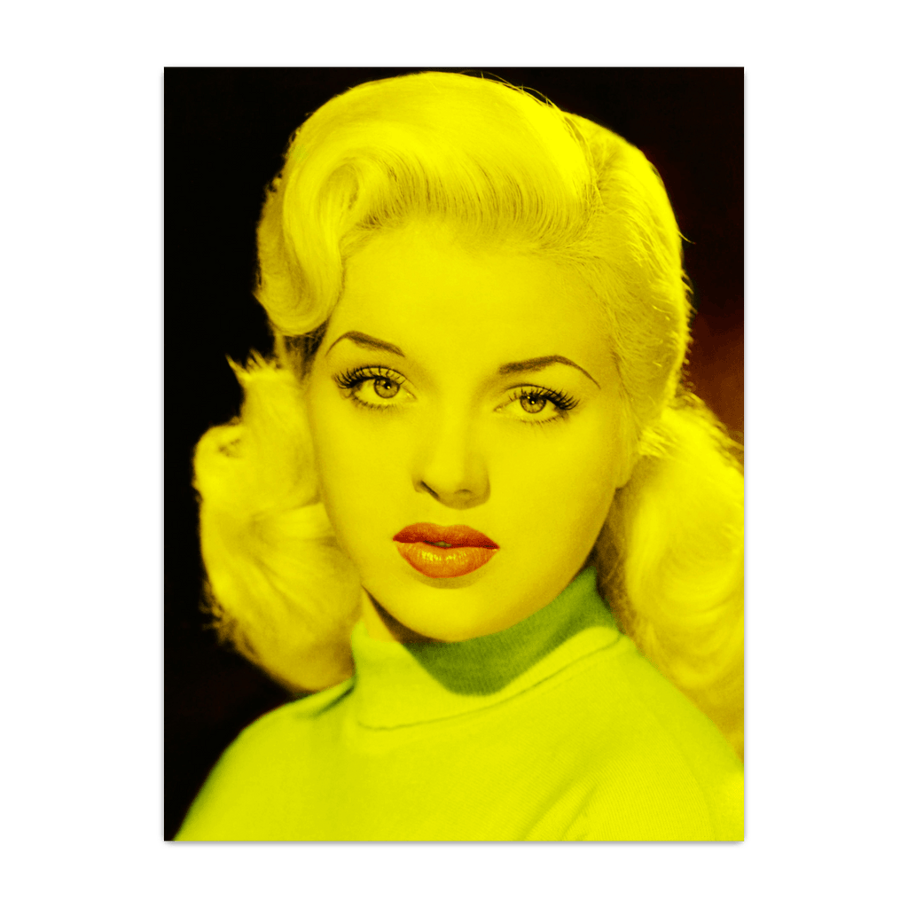 Diana Dors - Celebrity (Florescent Color Technique)