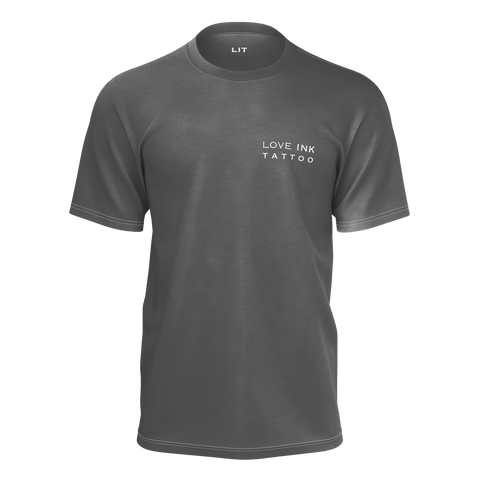 Love INK | Grey T-Shirt | Men's