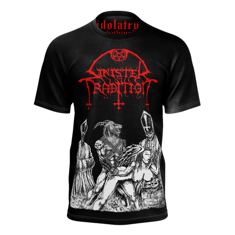 Sinister Tradition Perversions of the Divine Shirt