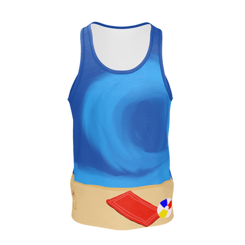 FOREVER BLUE MEN'S TANK TOP