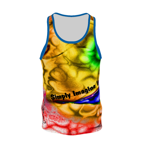 IMAGINE It #3 - Simply Imagine-Men's Tank Top