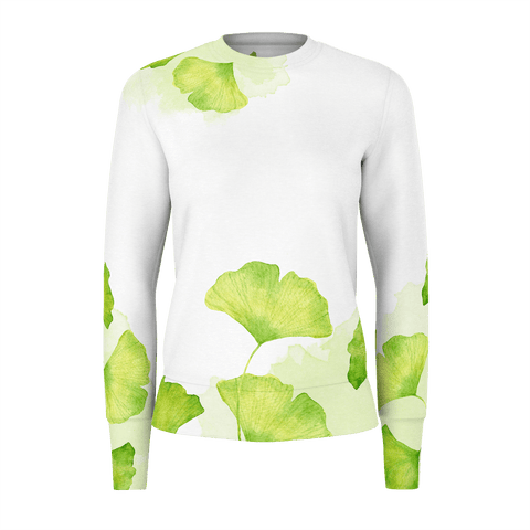 Womans Sweatshirt 260gsm Leaf