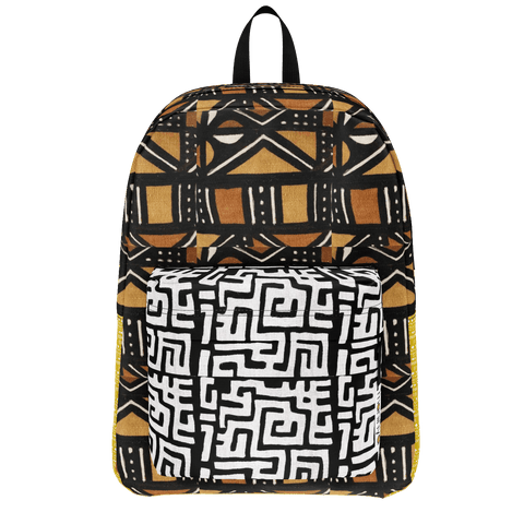 Salun Mudcloth Mix Bookbag
