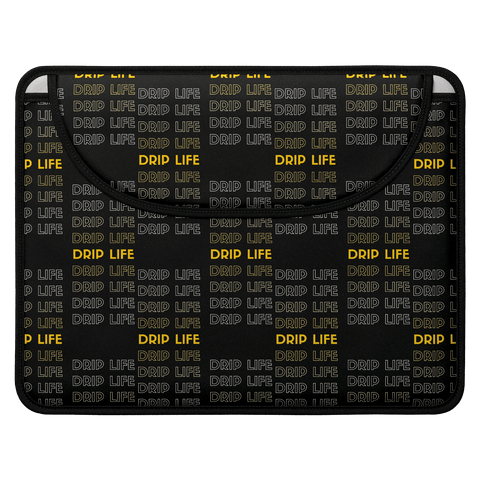 Drip closed top laptop case