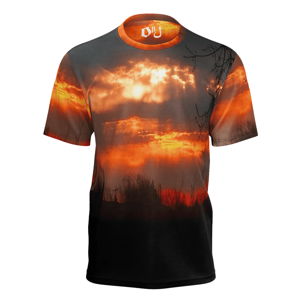 Red Sunrise Men's T-Shirt