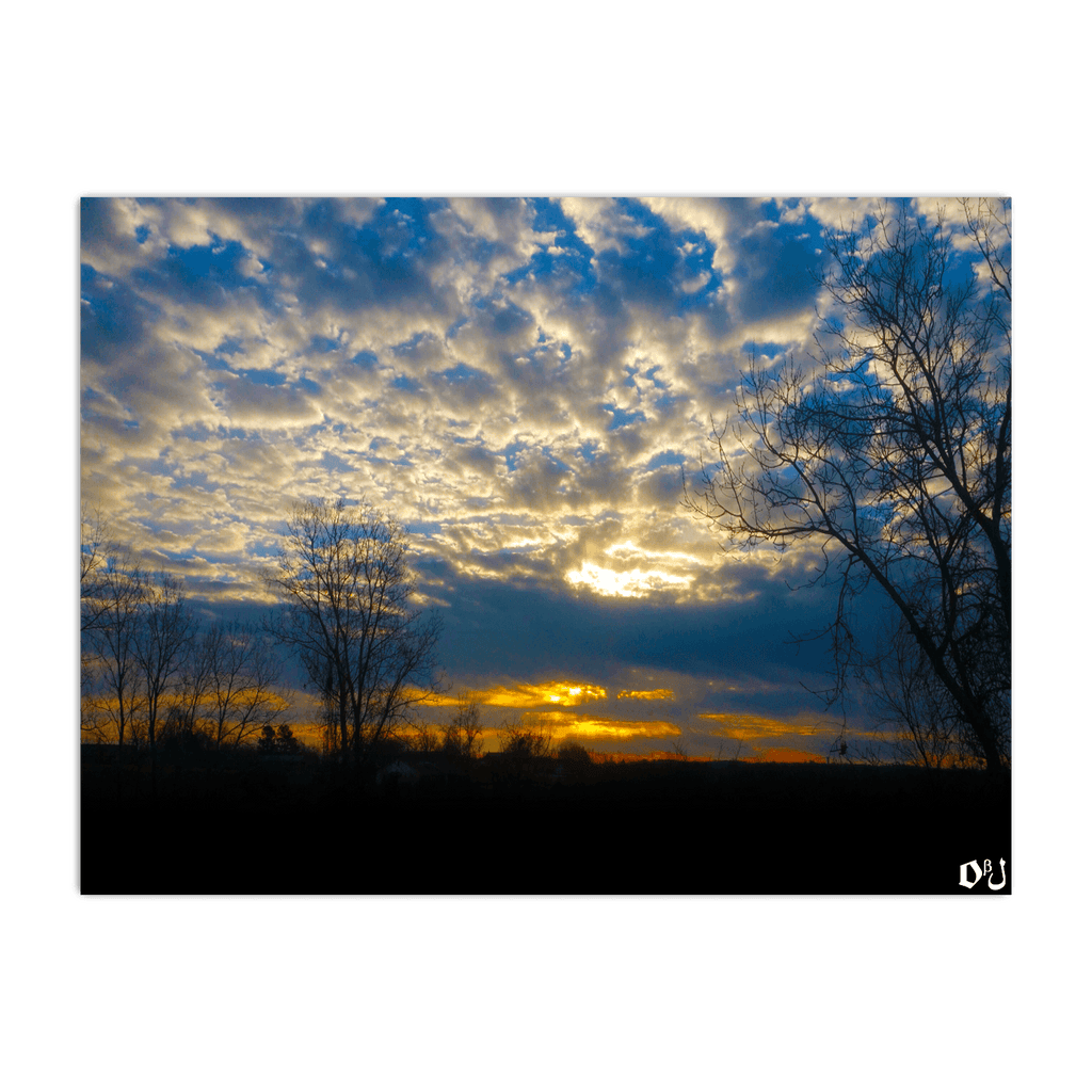 Country Sunrise Horizontal Poster