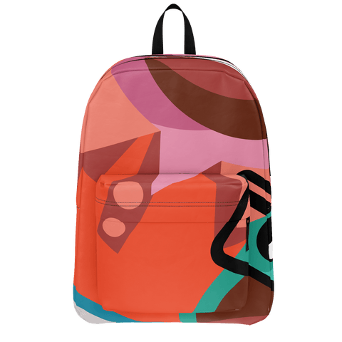 School Bus ALiens Backpack 26