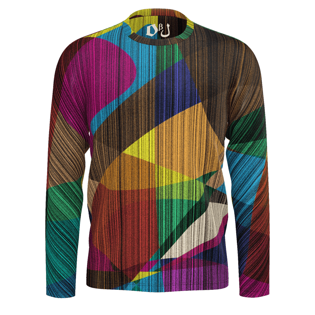 Spectrum (G Vertical) Men's Long Sleeve SJ T-Shirt