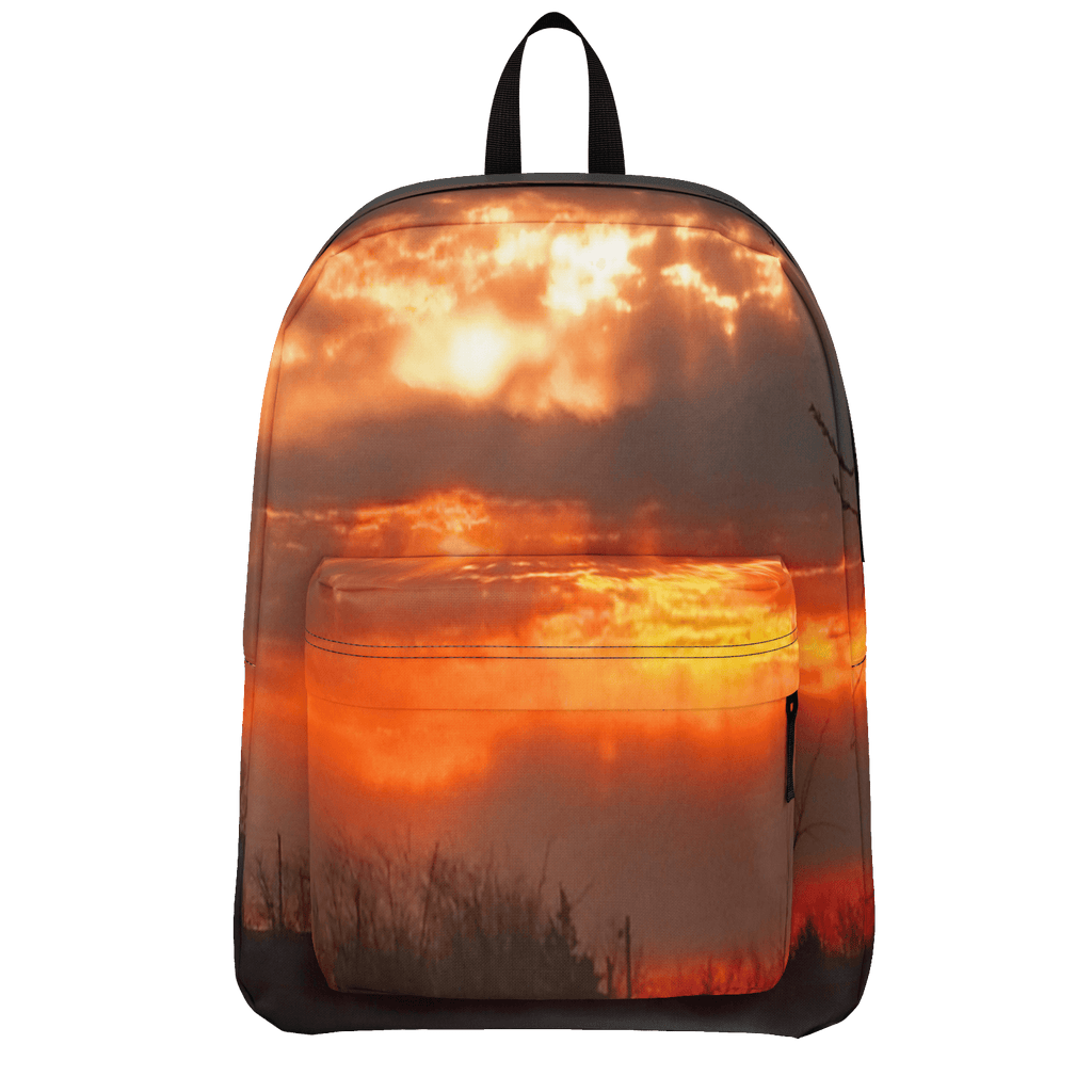 Red Sunrise Classic Backpack