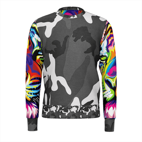 Camo Tiger Remix Sweat SHirt