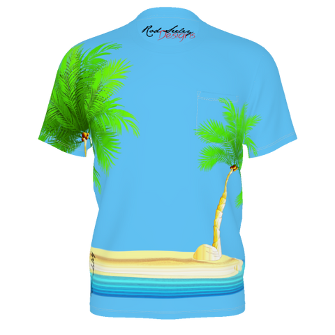 Island Palms - Men's Pocket Tee