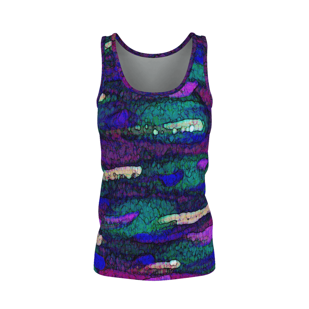 Purple Paint Daubs Women's SJ Tank Top