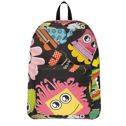 School Bus Aliens Backpack 9