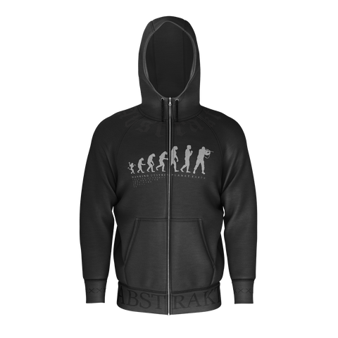 Abstrakt Mankind Zip-up Hoodie
