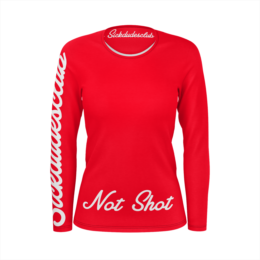Classic Not Shot Ladies R&W Long sleeve