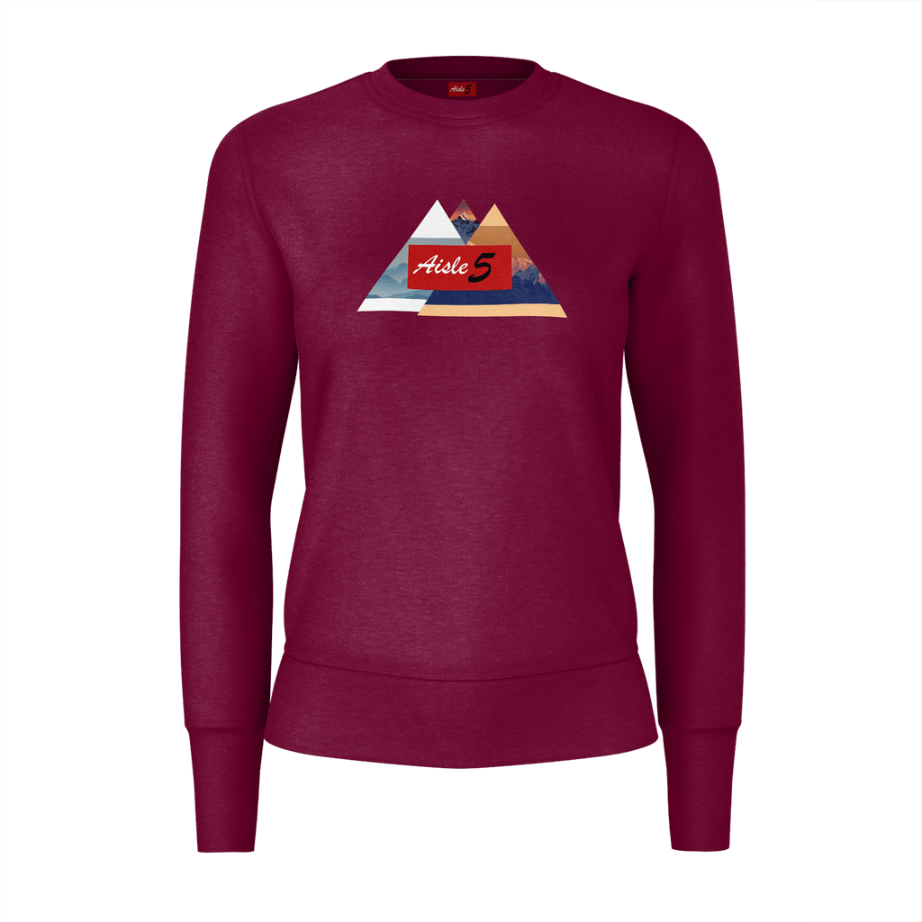 Mountains By Aisle 5 (Women) Maroon