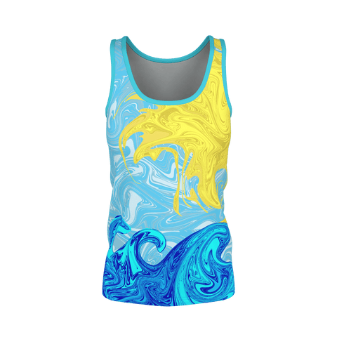 SUNSHINING ON BLUE WOMEN'S TANK TOP
